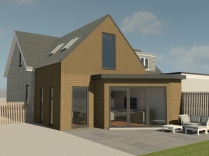 House extension visual