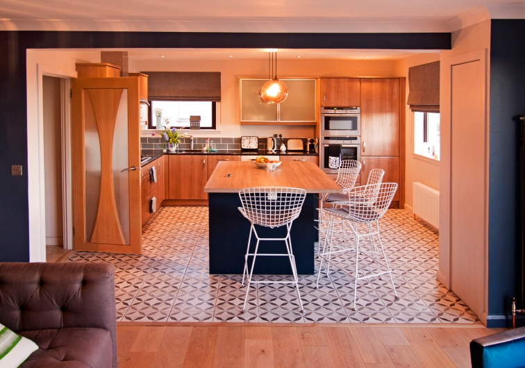 Open plan Kitchen/Dining/Family space