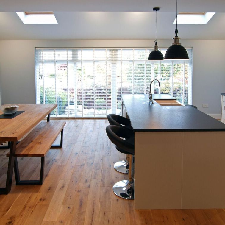 Open plan Kitchen/Dining extension