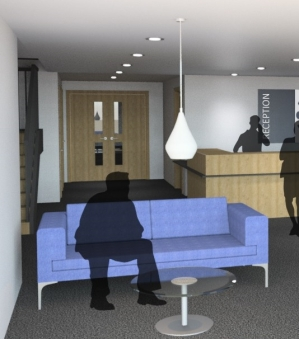 Office refurbishment visual