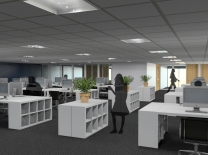 Office refurbishment visualisation