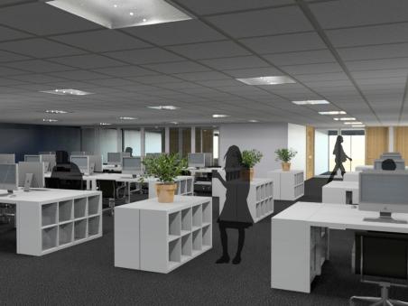 Office refurbishment visualisation