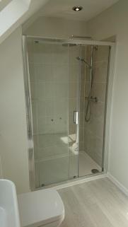 New Master En-suite shower