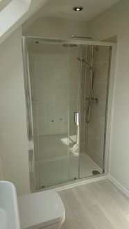 New Master En-suite shower