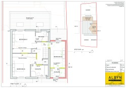 Planning Approved 1st Floor & Site Plan
